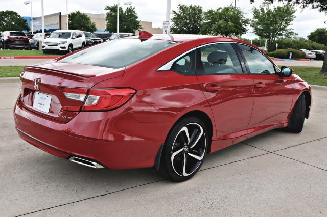 Certified Pre-Owned 2018 Honda Accord Sport 1.5T